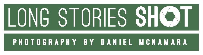 Long Stories Shot Logo White